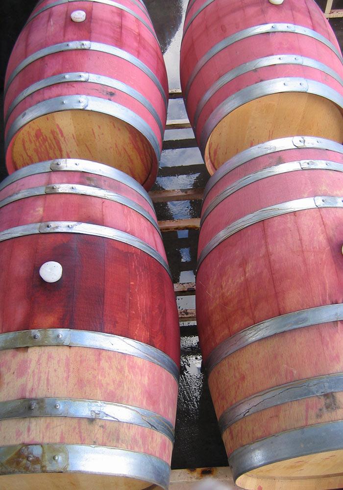 Red Wine Barrels